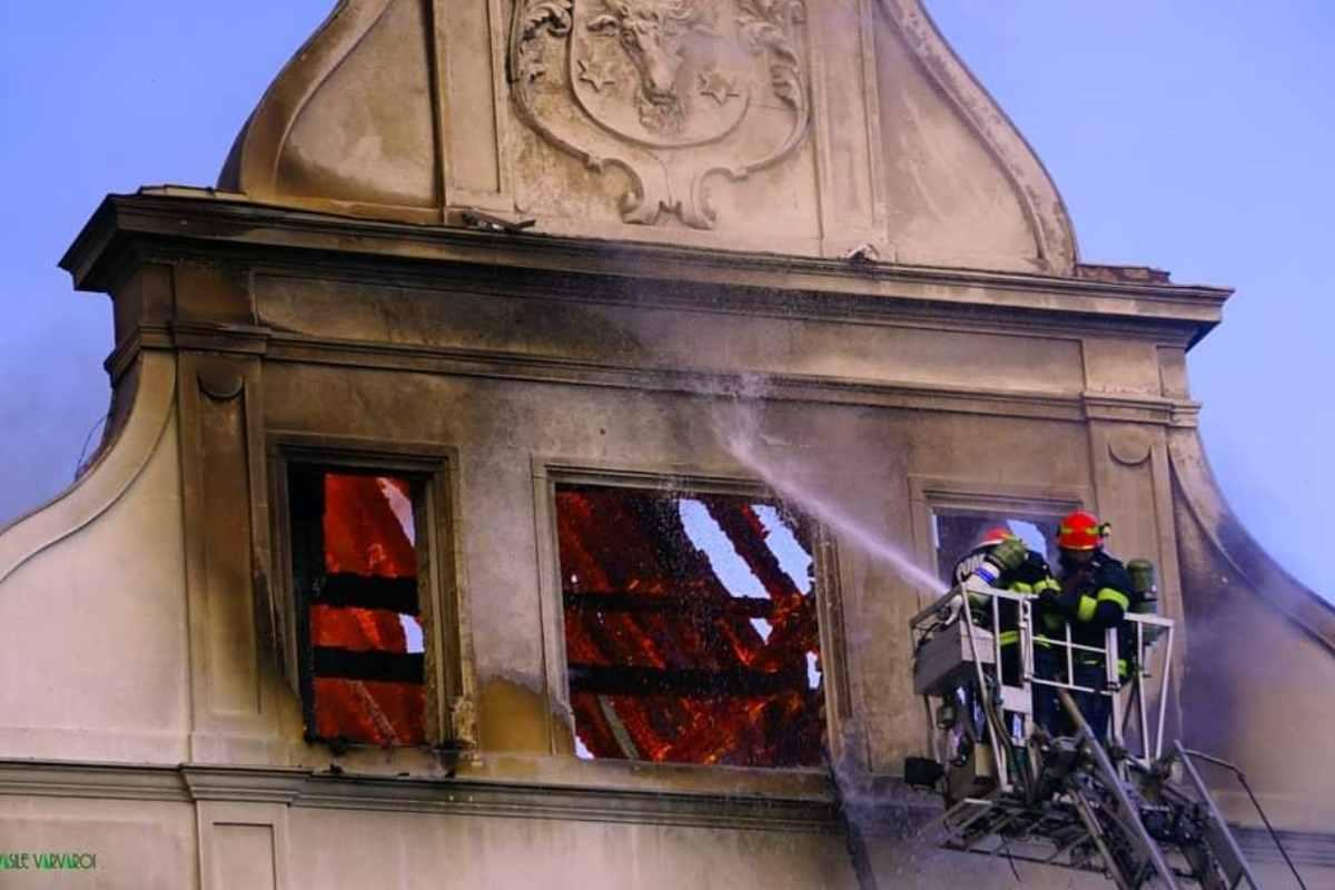 ISU Bucovina a anunțat cauza incendiului de la Palatul Administrativ din Suceava