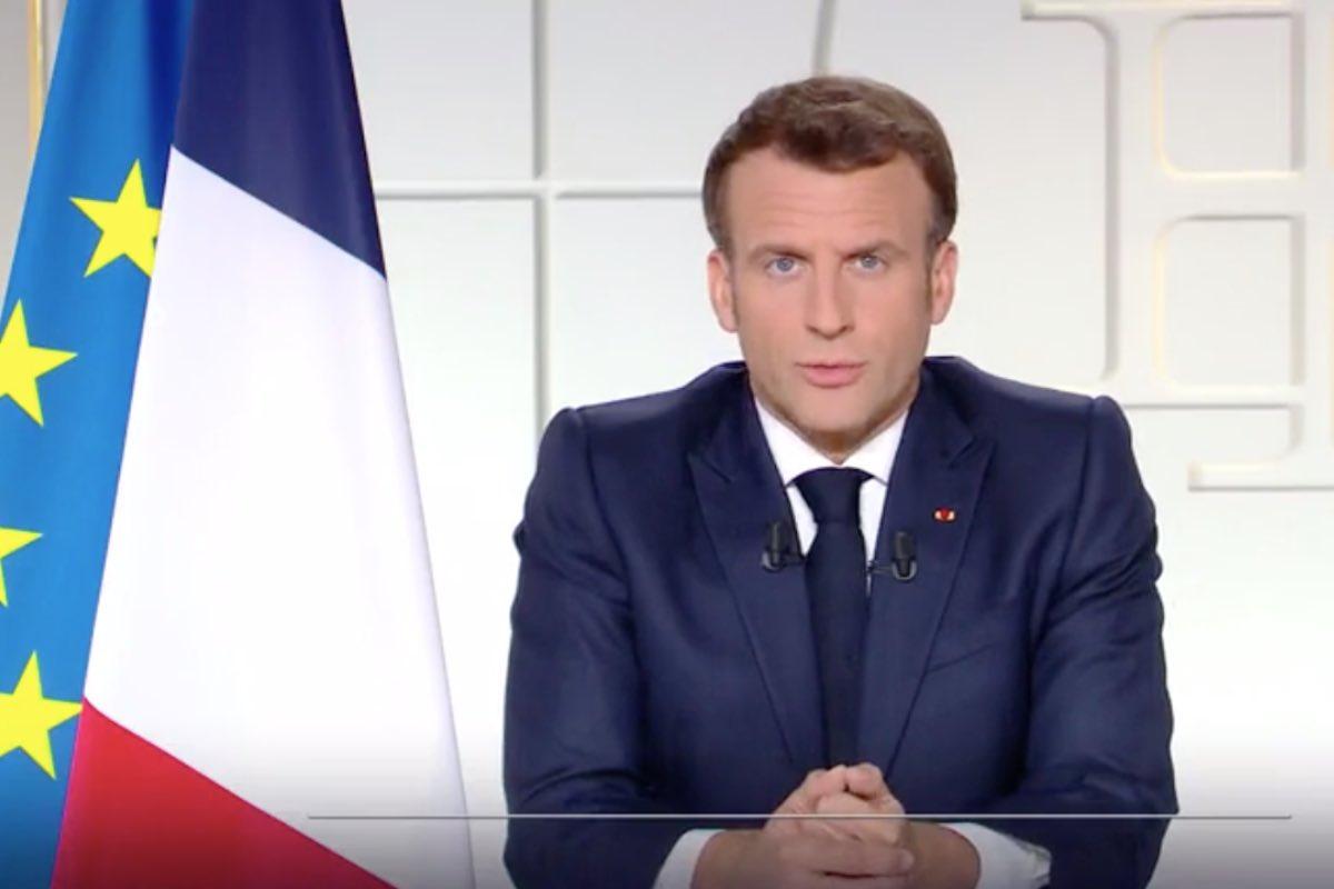 """Macron anunță o lună de carantină: """"Deschidem Franţa de la mijlocul lunii mai!"""""""