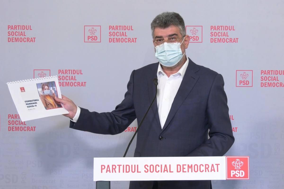 Ciolacu: PSD va solicita înfiinţarea unei comisii parlamentare de anchetă privind falsificarea datelor pandemiei