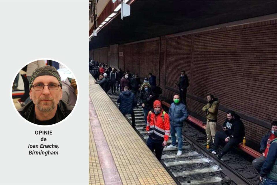 Fumul din tunelul de metrou. Scandal, PR și același status-quo. Opinie de Ioan Enache, Bimingham
