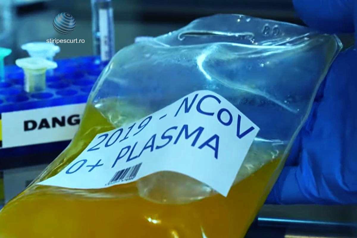 Plasma salvează vieți: Iată câți români au fost vindecați de COVID-19 cu plasmă convalescentă