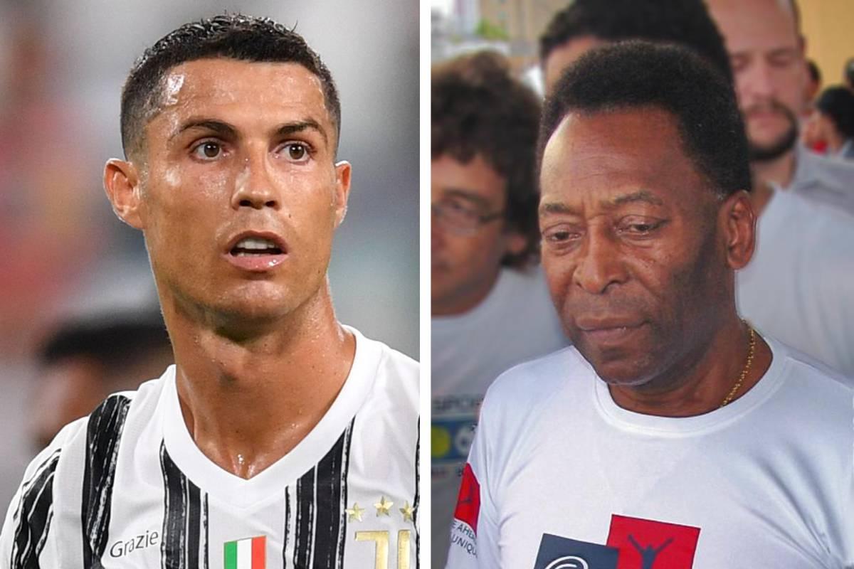Cristiano Ronaldo a egalat recordul lui Pele de goluri marcate
