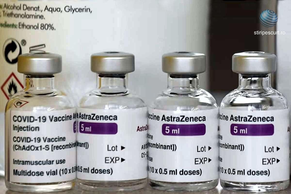 Valeriu Gheorghiță: România continuă vaccinarea cu AstraZeneca pentru toate grupele de vârstă
