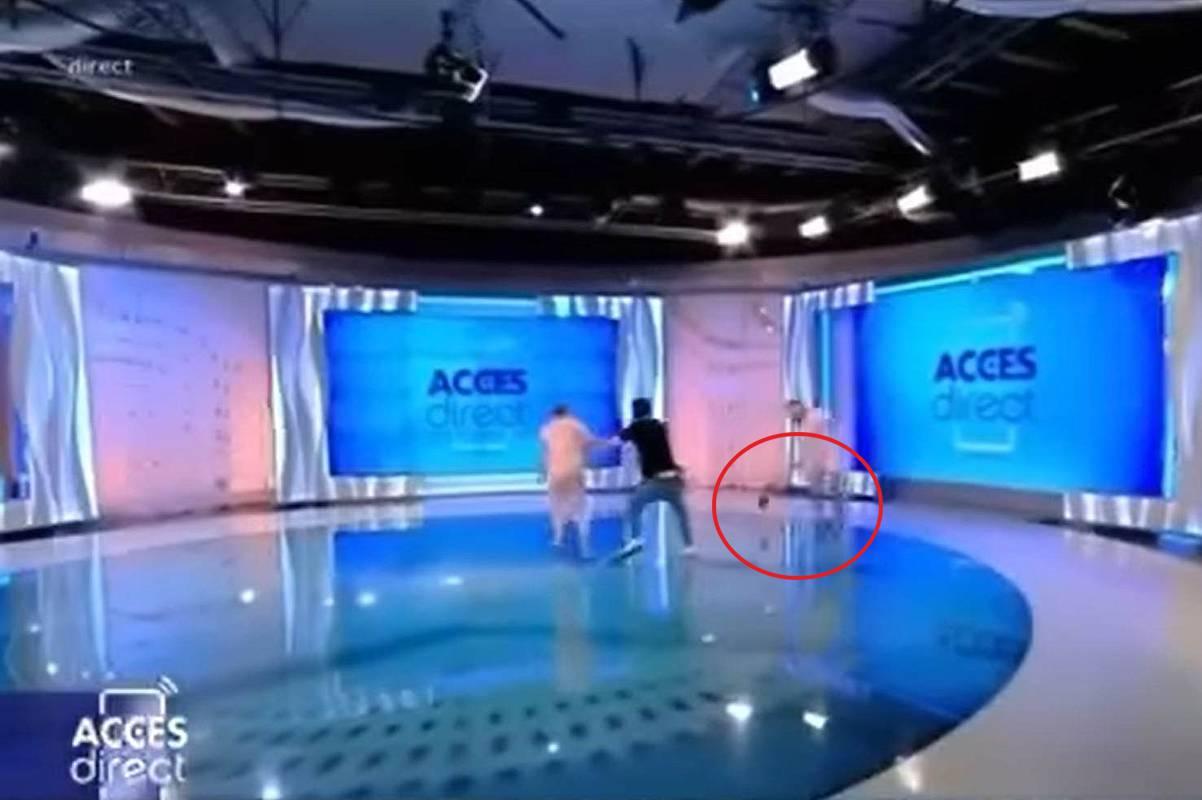 Mirela Vaida atacată în platoul Acces Direct cu un bolovan