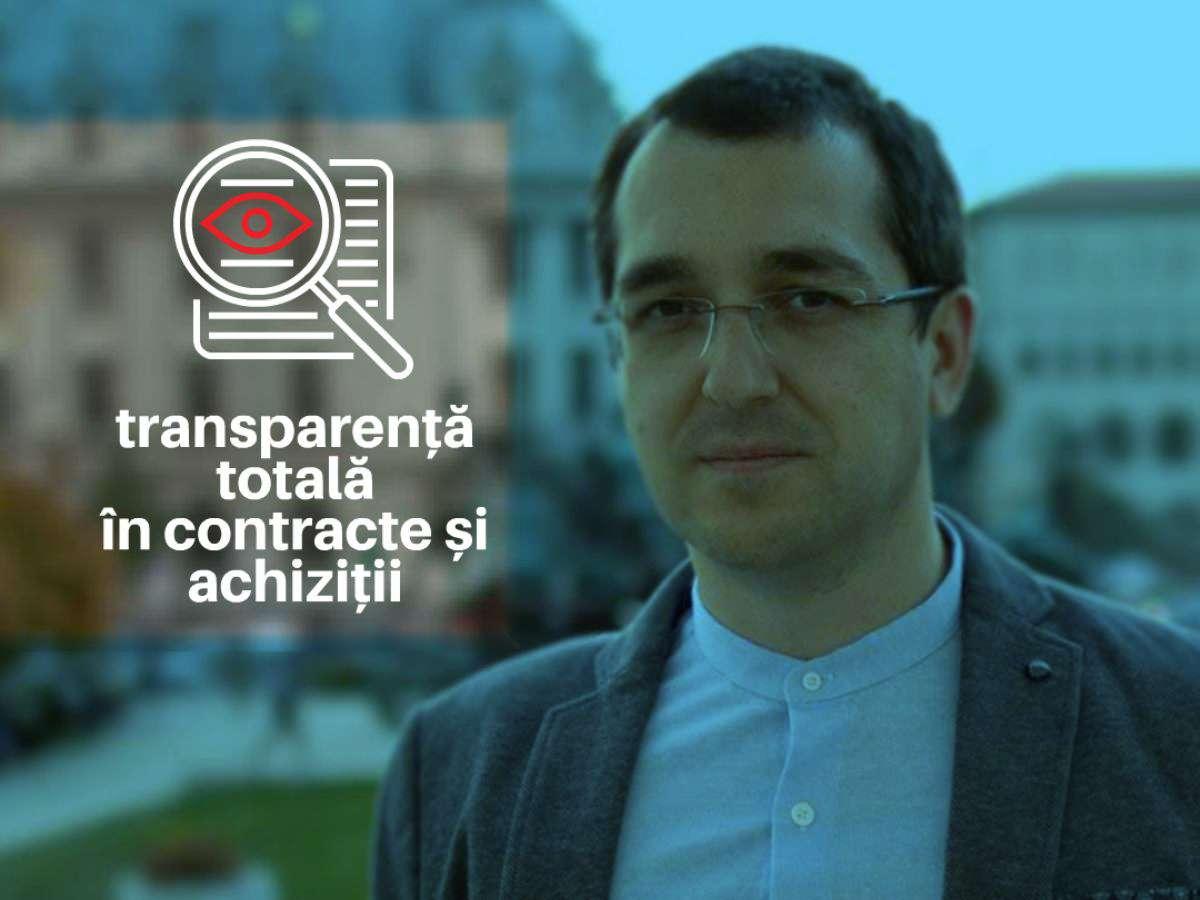 Și noi vrem transparență de la Ministerul Sănătăţii! Opinie de Florin Hozoc