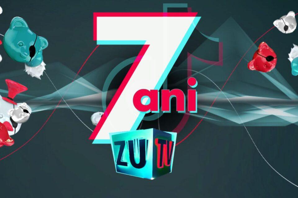 """Începe campania """"7 ani de ZU TV"""" şi se lansează contul de TikTok al canalului"""