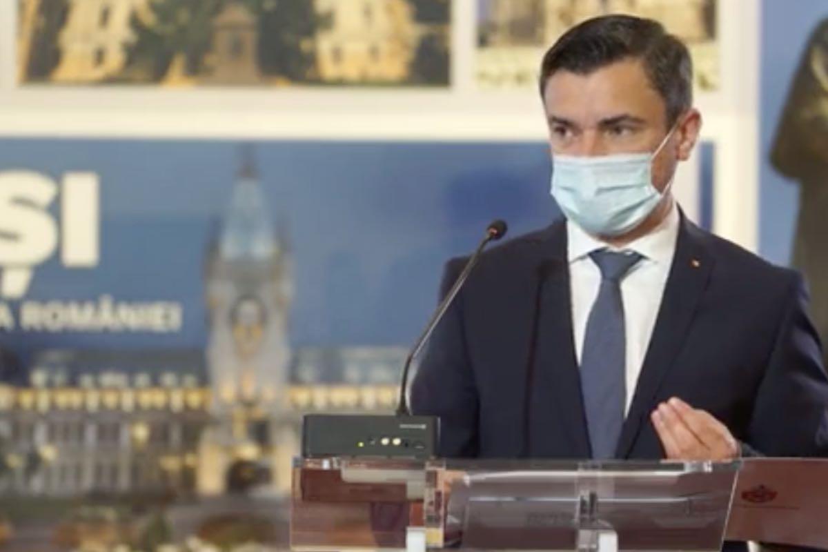 Primarul ieșean Mihai Chirica amenință că va intra în grevă japoneză împotriva USR PLUS