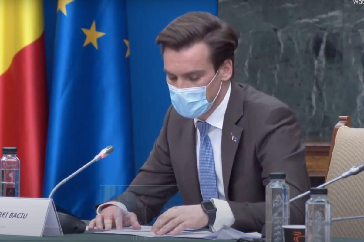 Andrei Baciu anunță că de pe un cont pe platforma de vaccinare se pot face până la 1000 de programări