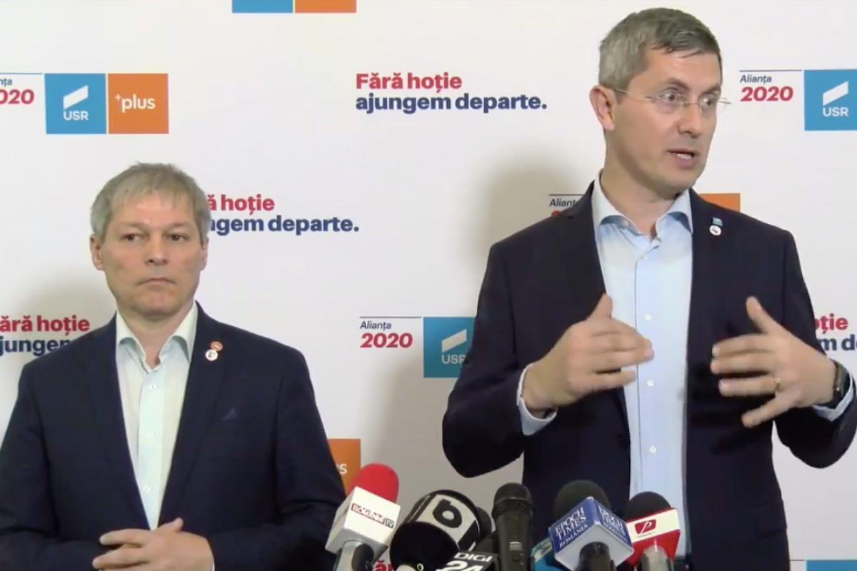 Fuziunea USR şi PLUS, aprobată de Curtea de Apel Bucureşti. Barna și Cioloș, șefi ai aceluiași partid