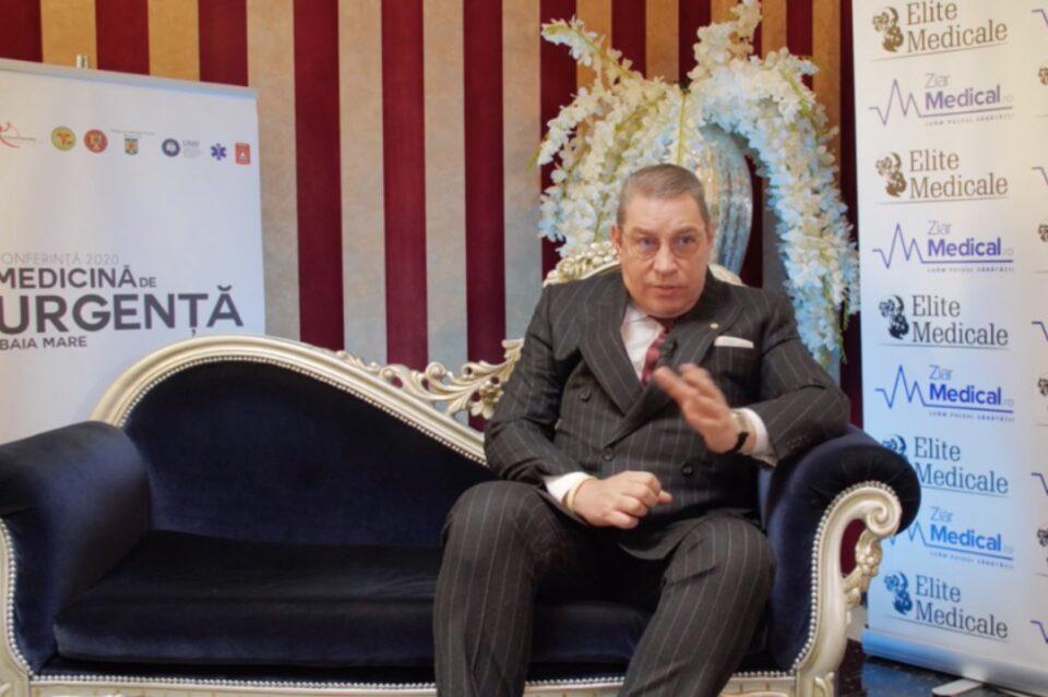 """Profesorul Șerban Bubenek, despre situația paturilor ATI: """"România nu stă foarte rău"""""""