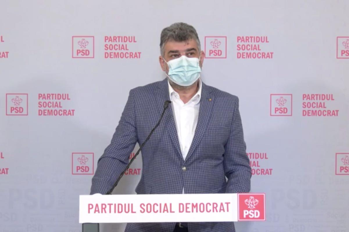 Ciolacu anunţă că social-democrații vor depune, din nou, o moţiune simplă împotriva lui Vlad Voiculescu