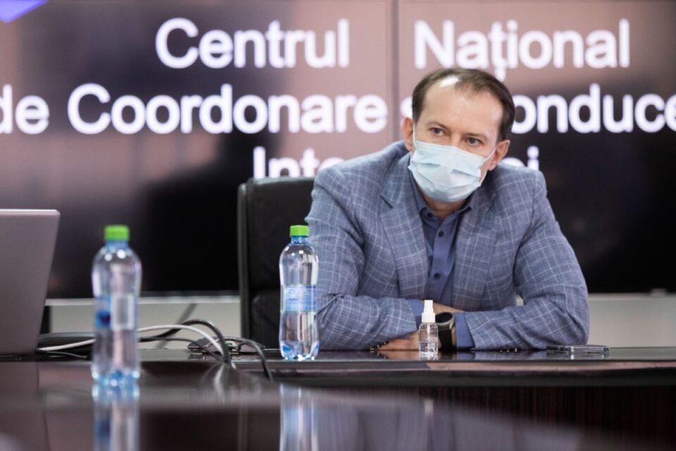 Cîțu anunţă că va discuta cu autoritățile locale şi cu Ministerul Educaţiei pentru accelerarea campaniei de vaccinare