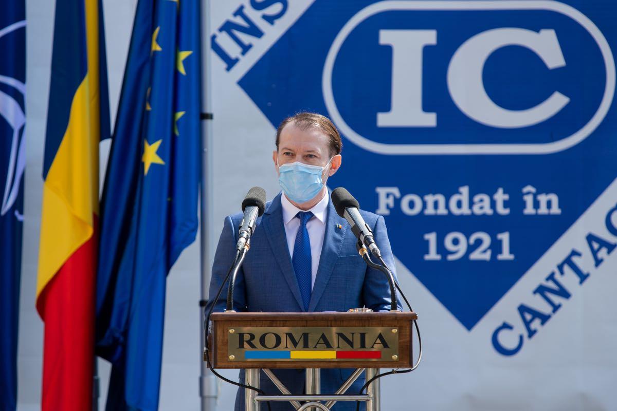 Cîțu face marele anunț: România este în proces de selecţie pentru partea de producţie a vaccinului anti-COVID