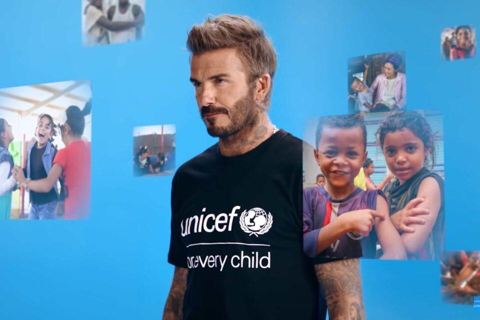 Ambasadorul Bunăvoinței pentru UNICEF David Beckham, în fruntea eforturilor globale de vaccinare în Săptămâna Mondială a Imunizării