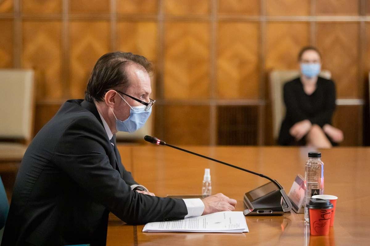 Florin Cîțu explică de ce i-a demis pe Andreea Moldovan și Vlad Voiculescu