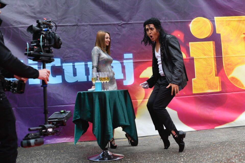 George Tănase, în pielea lui Michael Jackson, la iUmor