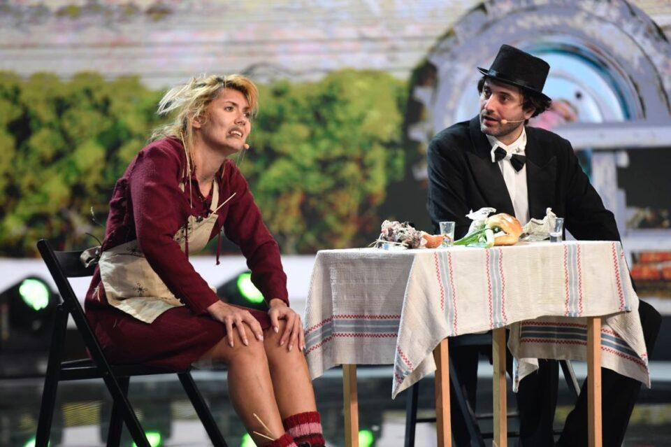 """Cel mai lung număr de pe scena iUmor, astăzi, de la 20.30, la Antena 1: """"Vedem toată piesa?!"""""""