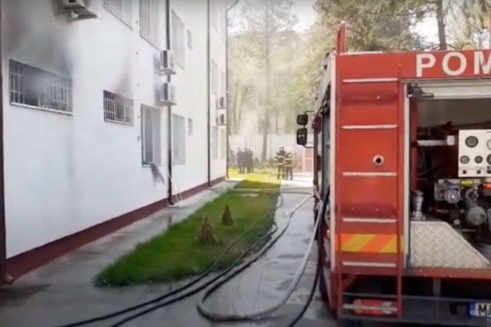 Directorul Spitalului Slatina, despre incendiu izbucnit în unitate: Un pacient în sevraj ar fi dat foc