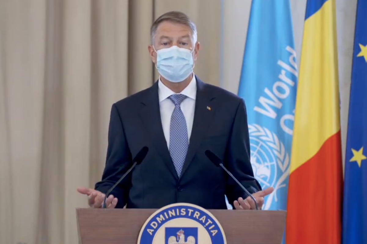 Iohannis ne sfătuiește să fim pregătiți și să răspundem eficient și coordonat, în cazul unor amenințări emergente la adresa sănătății publice