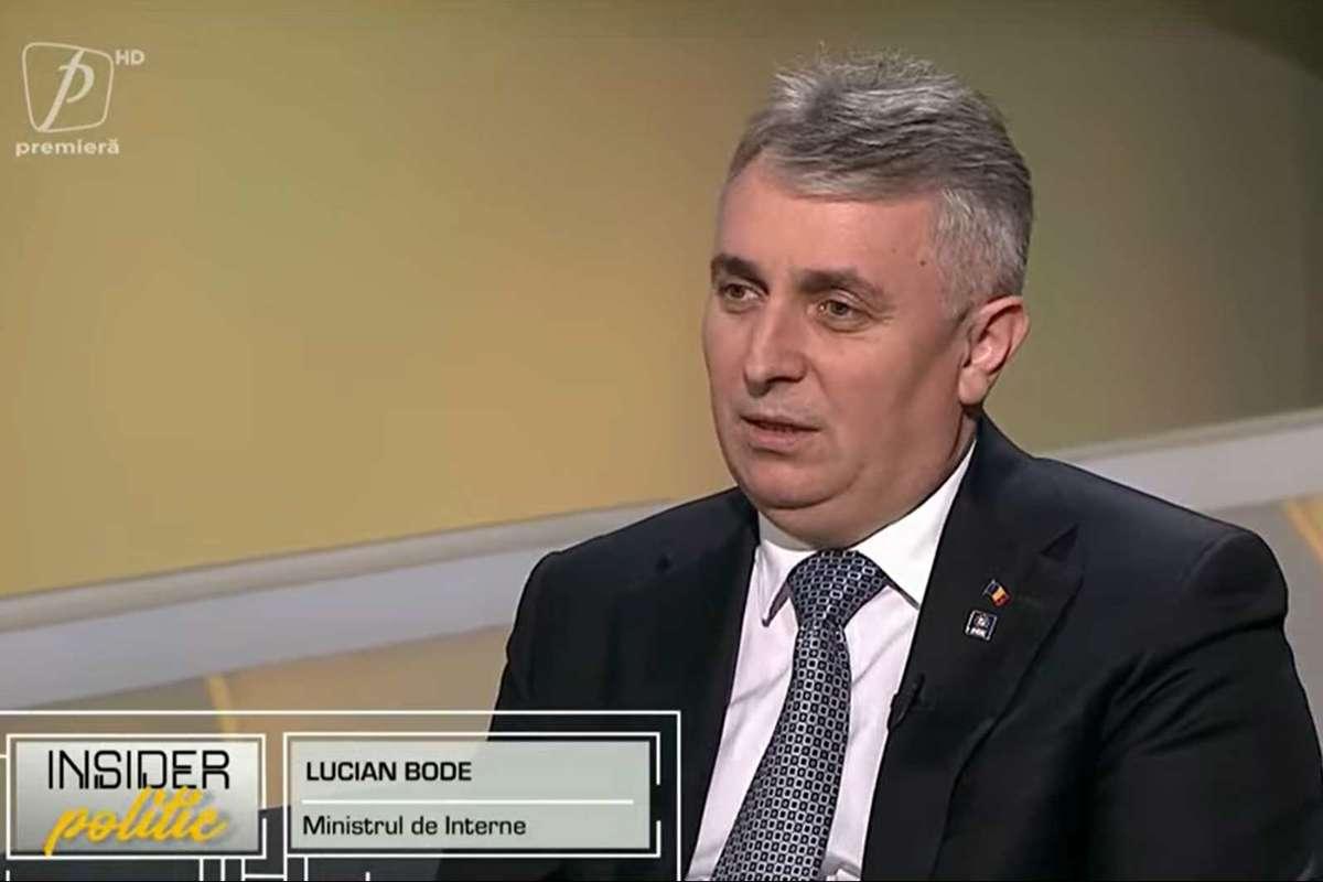 Lucian Bode a dezvăluit ce amenințări a primit ca ministru