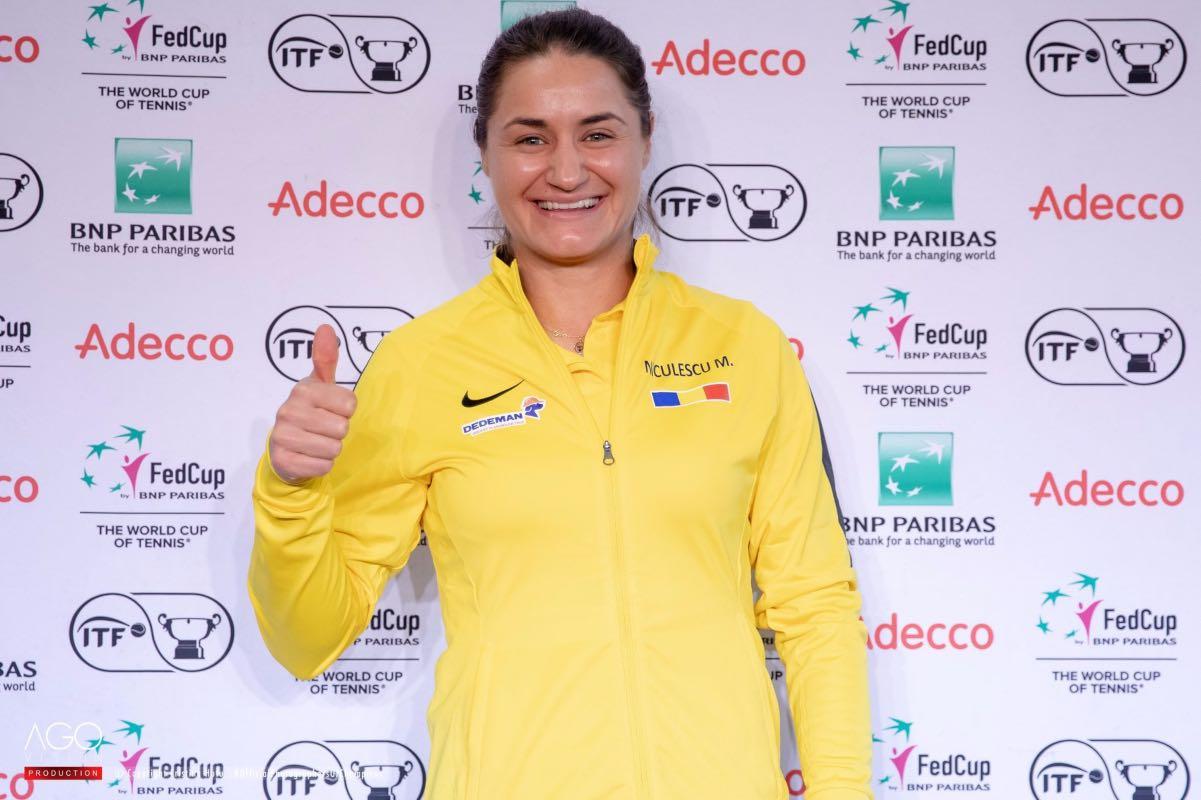 Monica Niculescu, despre Billie Jean King Cup: Simona şi-a dorit mult să fie alături de noi, o să se uite la meciuri