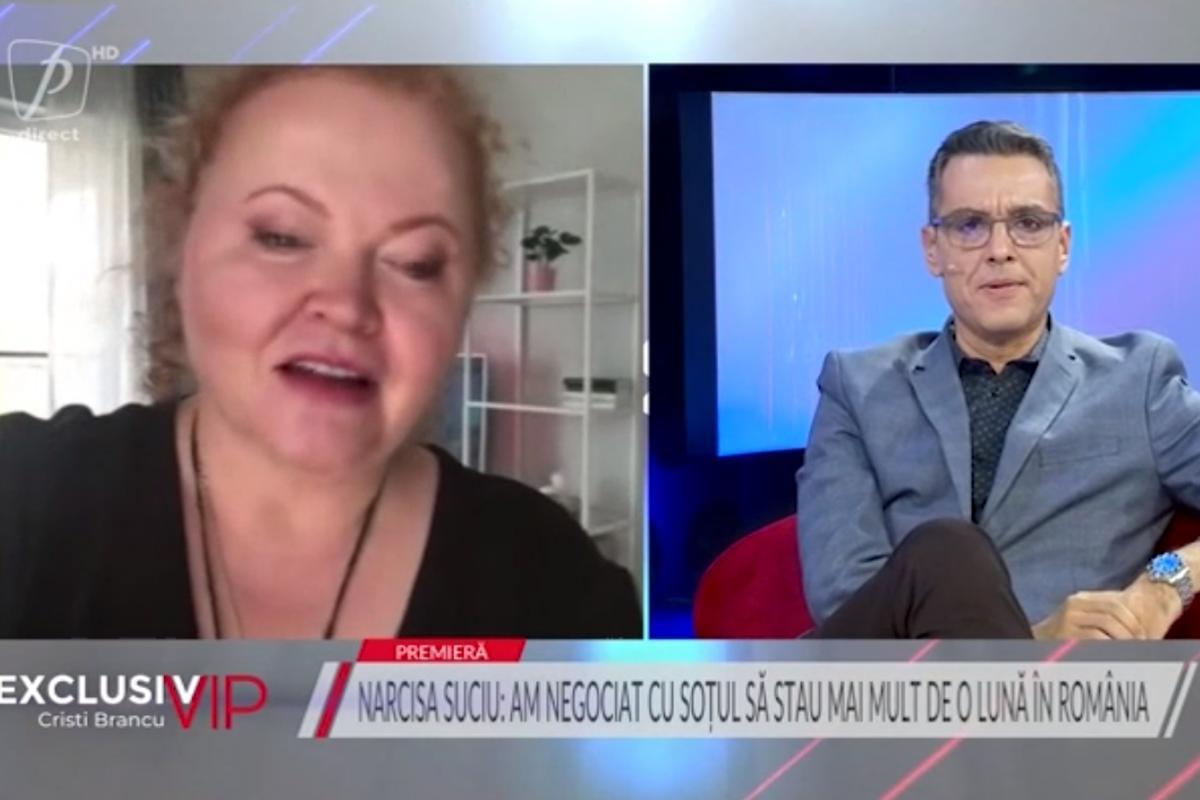 Narcisa Suciu și-a negociat cu soțul finlandez sosirea în România: Simțeam că explodez!