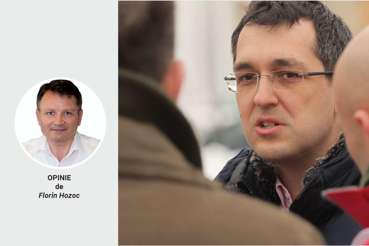 De ce a fost demis Vlad Voiculescu? Opinie de Florin Hozoc