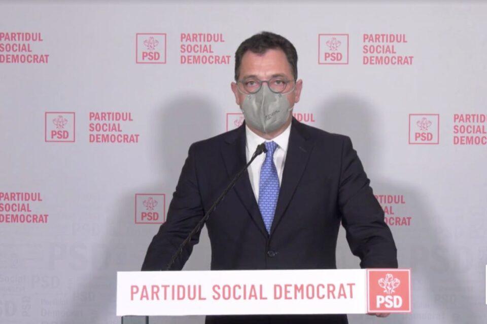 PSD anunță că nu mai depune moțiune dacă USR - PLUS vrea să iasă de la guvernare