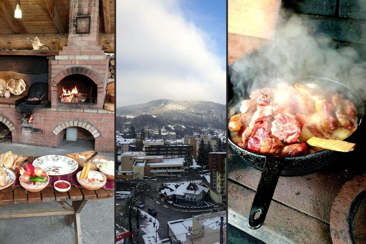 Minunile culinare din Oltenia de sub Munte și poveștile de suflet și aer proaspăt, de sănătate, la Băile Olănești, la ROventura