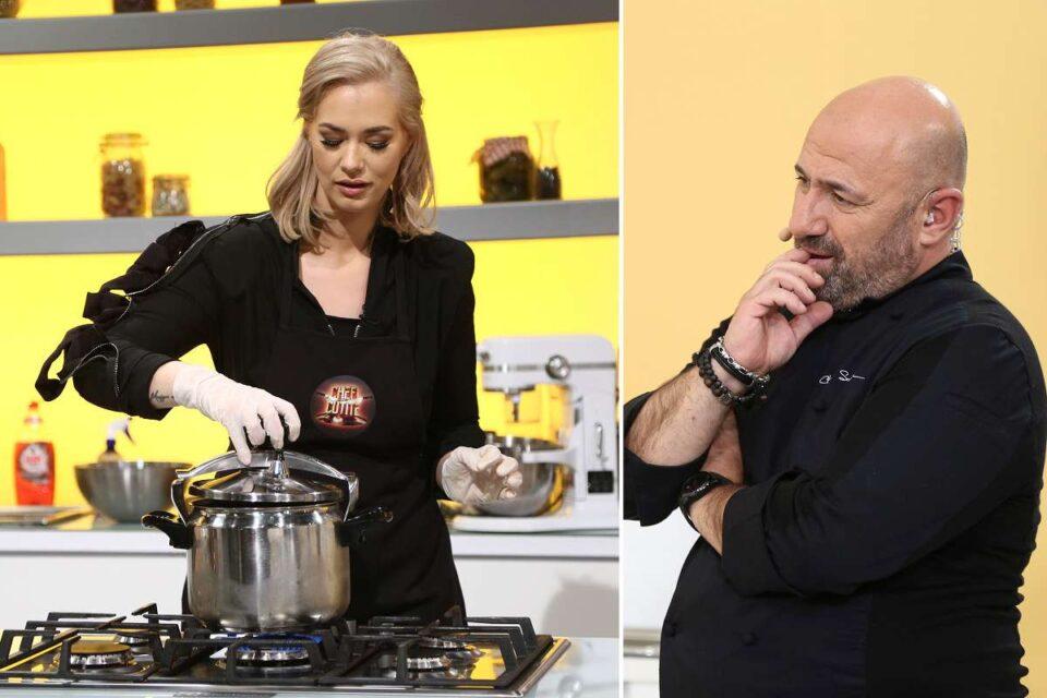 Lupta pentru amuletă incinge spiritele în bucătăria Chefi la cuțite. Feli Donose, invitata specială a serii