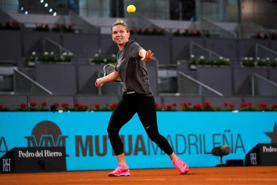 Simona Halep la Madrid open 2021