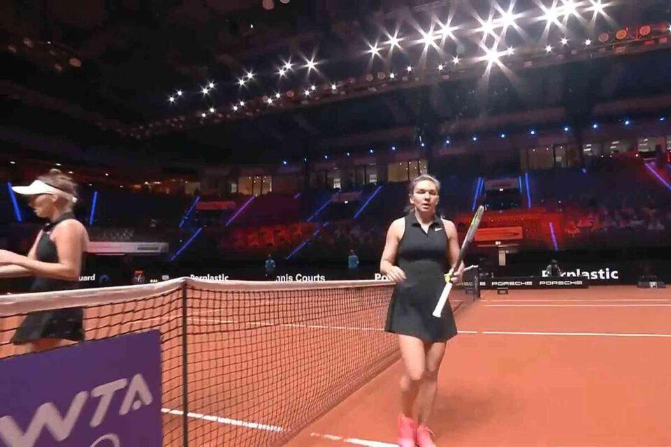Simona Halep - Marketa Vondrousova rezultat stabilit după numai 53 de minute de joc