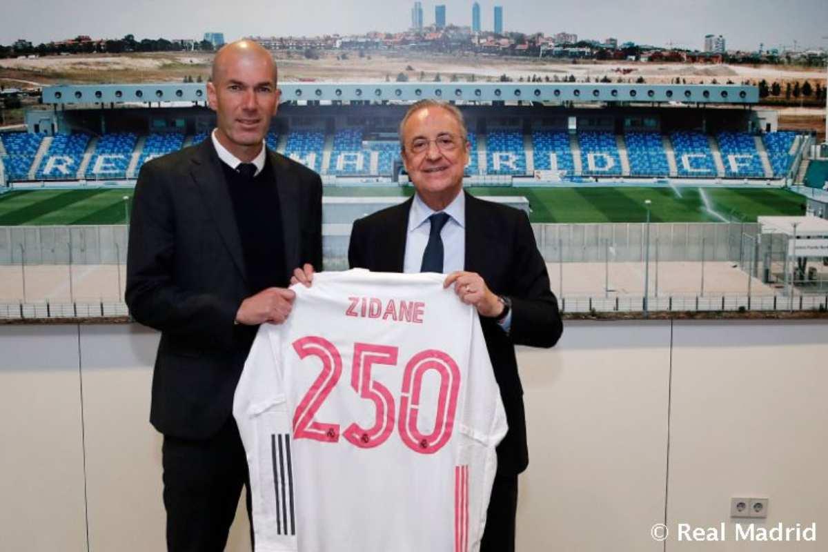 Zidane si Florentino Perez. foto: realmadrid.com