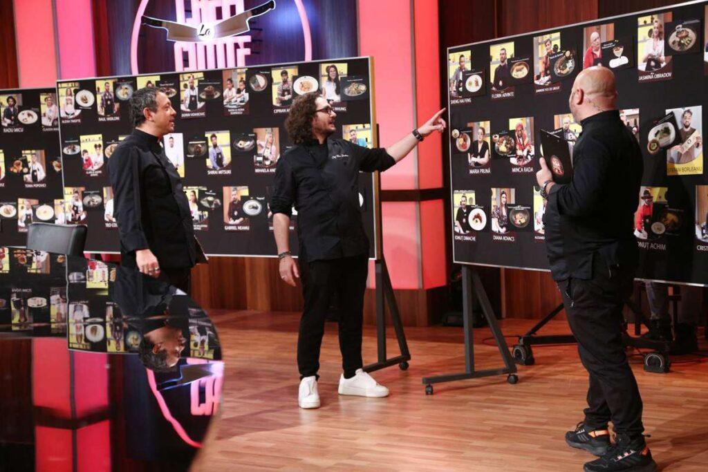 Sorin Bontea, Florin Dumitrescu și Cătălin Scărlătescu dau startul bootcamp-ului sezonului 9 Chefi la cuțite