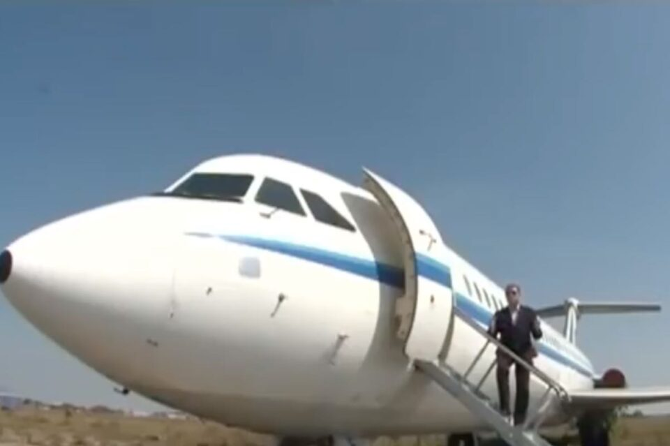 Avionul prezidențial al lui Ceaușescu, scos la licitație