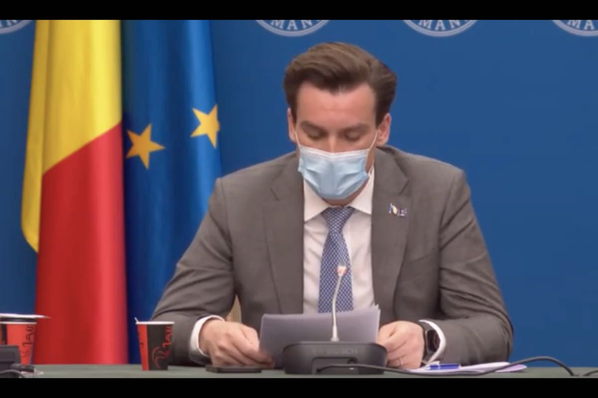 Andrei Baciu anunță că peste 10000 de români au fost vaccinați anti-COVID cu ser Johnson&Johnson