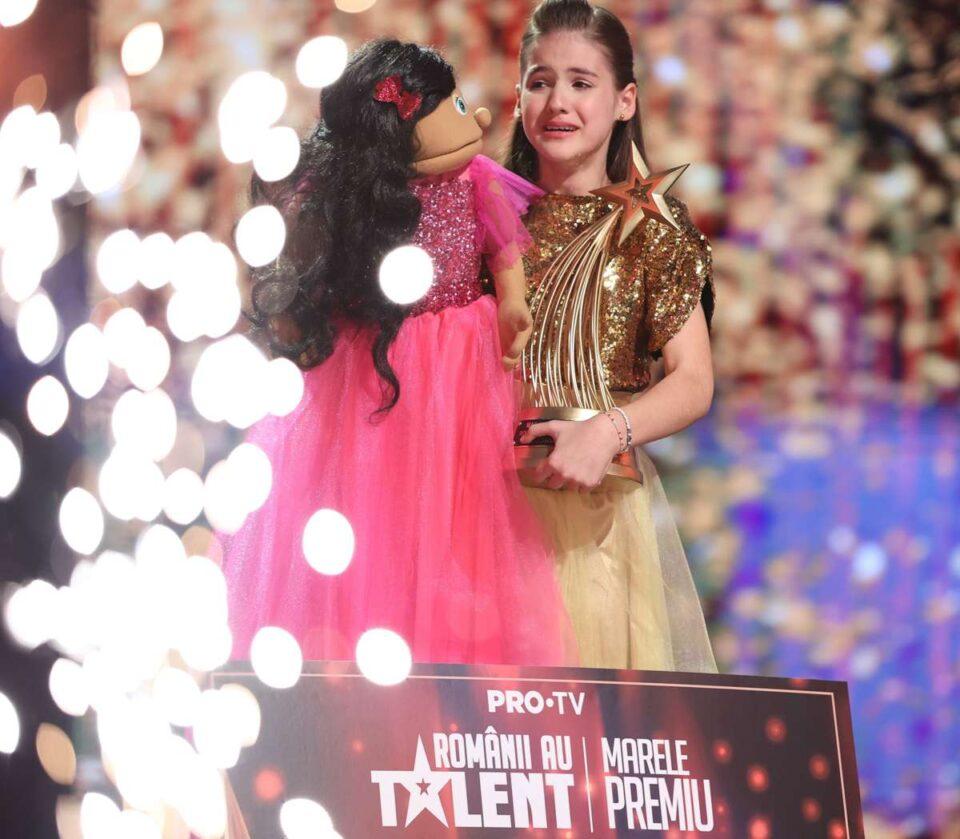Românii au Talent, câștigător: Ana Maria Mărgean, cu un număr de ventrilocie