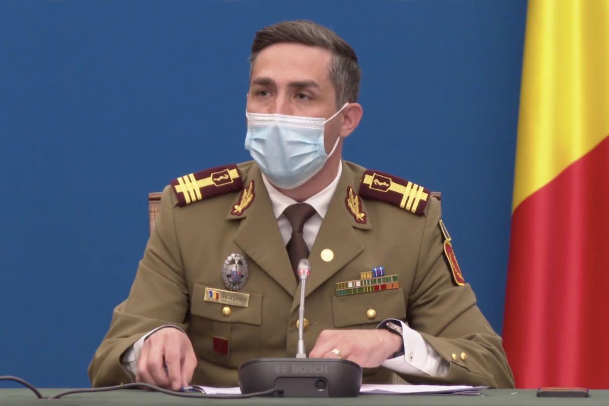 Gheorghiţă anunță că se vaccinează în 372 de cabinete de medicină de familie. Județele Botoşani, Ilfov şi Vrancea nu au demarat, încă, această activitate
