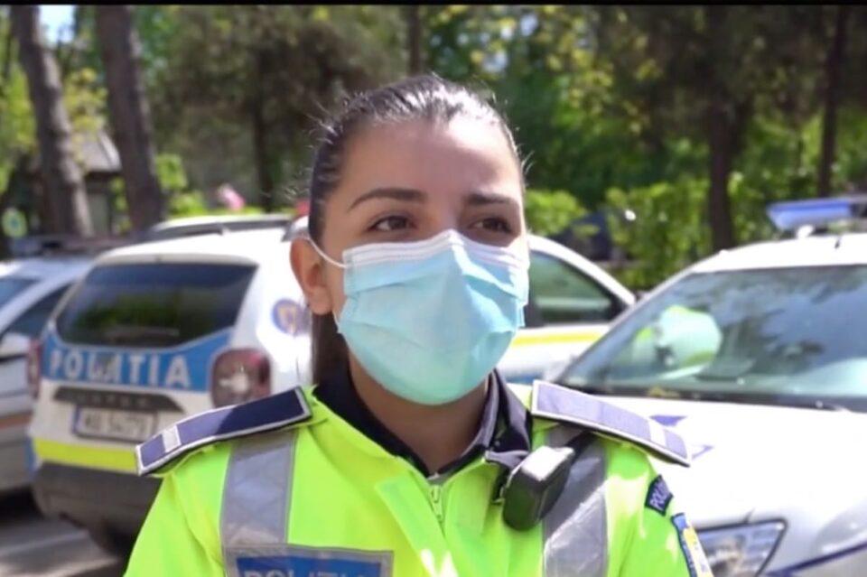 Poliţista din Botoşani care a salvat viața unei fetiţe pe care tatăl ei vroia să o ucidă: Când am luat-o în braţe, mi-au lăcrimat imediat ochii, de parcă era copilul meu