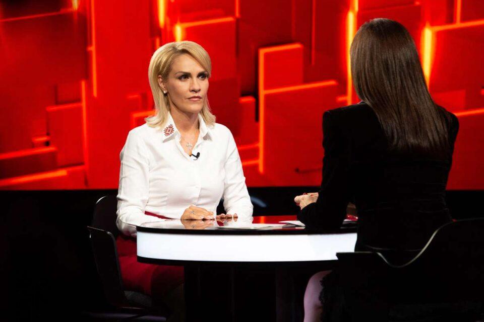 """""""V-a amenințat Liviu Dragnea cu moartea?"""" Gabriela Firea, la """"40 de întrebări cu Denise Rifai"""""""