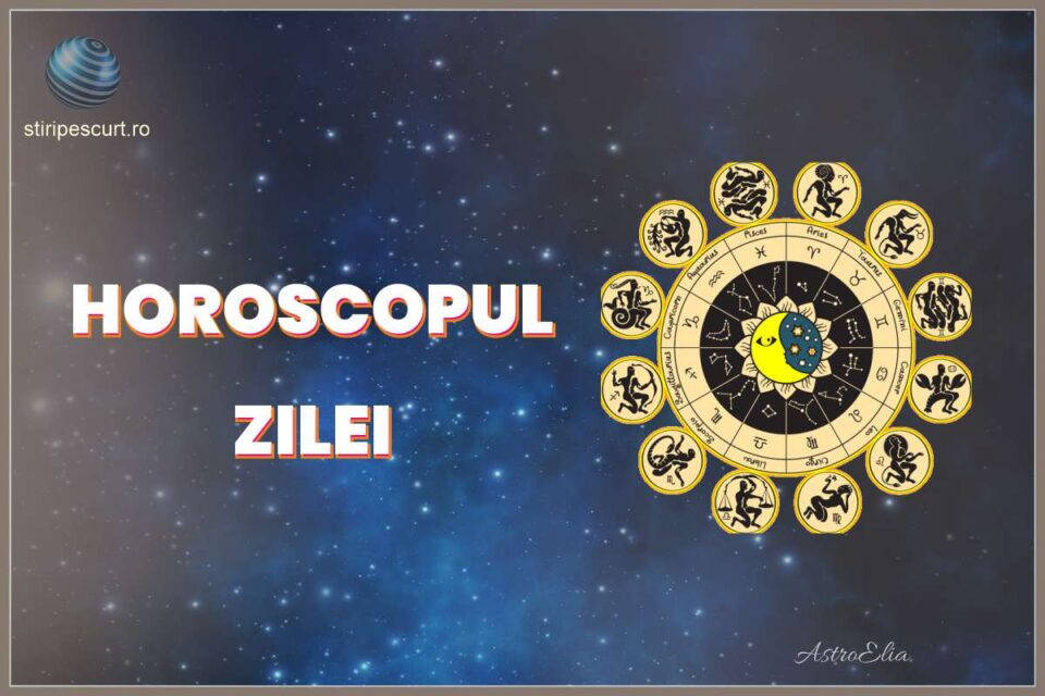Horoscop Zilnic. Horoscop azi stiripescurt.ro