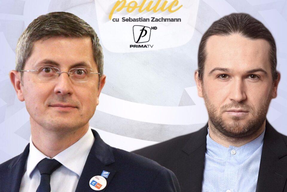 """Vicepremier și președinte al USR, Dan Barna vine la """"Insider Politic"""""""