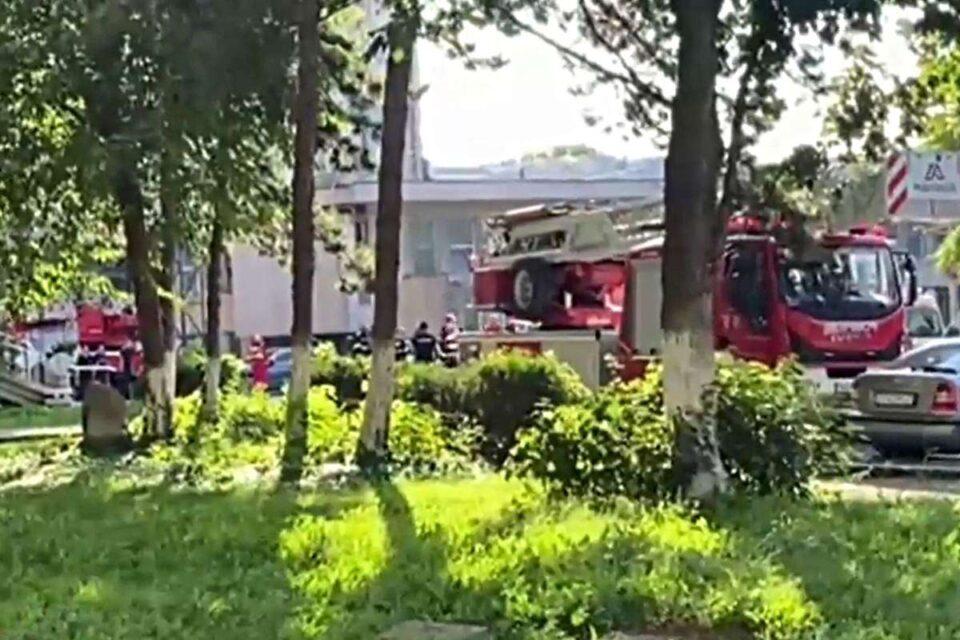 Incendiu la o sală de operaţie de la Spitalul Judeţean Constanţa