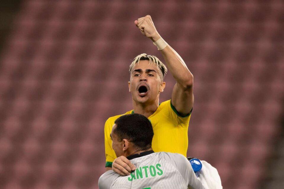Olimpiada de la Tokyo: Brazilia - Spania, finala turneului olimpic. foto: Federația Braziliană de Fotbal, facebook