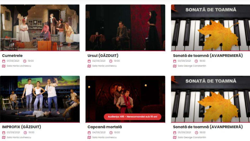 Teatrul Nottara: Noua stagiune începe la 1 septembrie