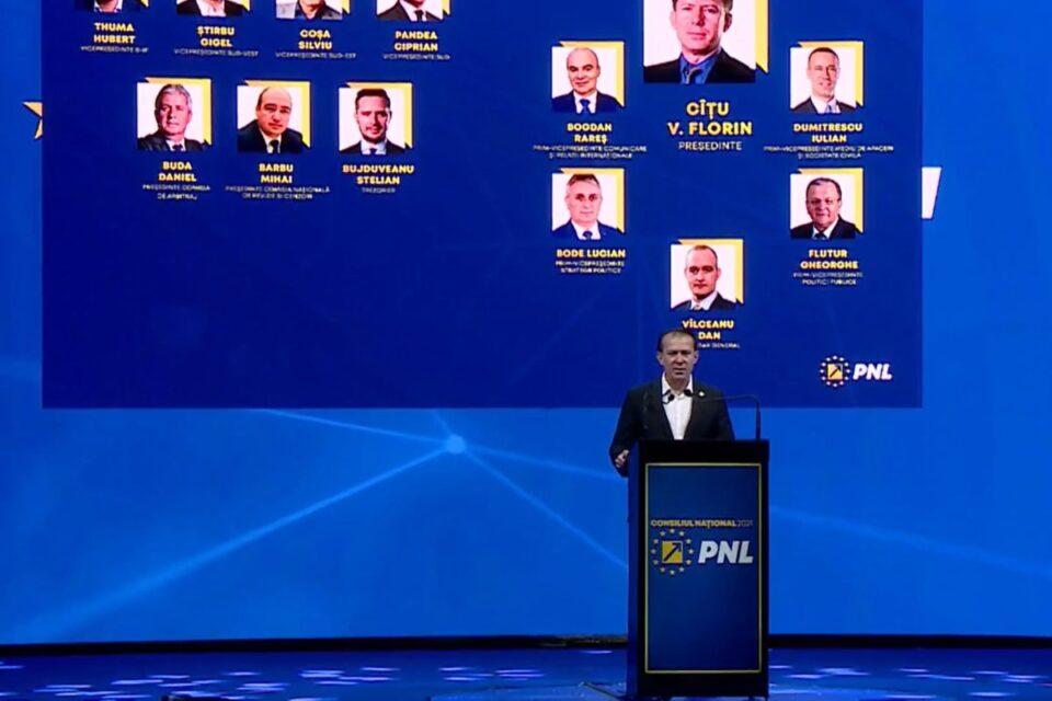 Toți membrii candidați din echipa Cîțu au câștigat mandatele de conducere în PNL