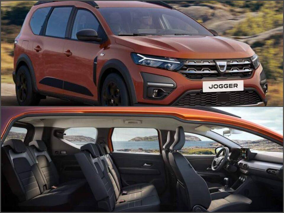Dacia a prezentat noul model Jogger. Versiuni cu 5 şi cu 7 locuri. Prețul noului Jogger