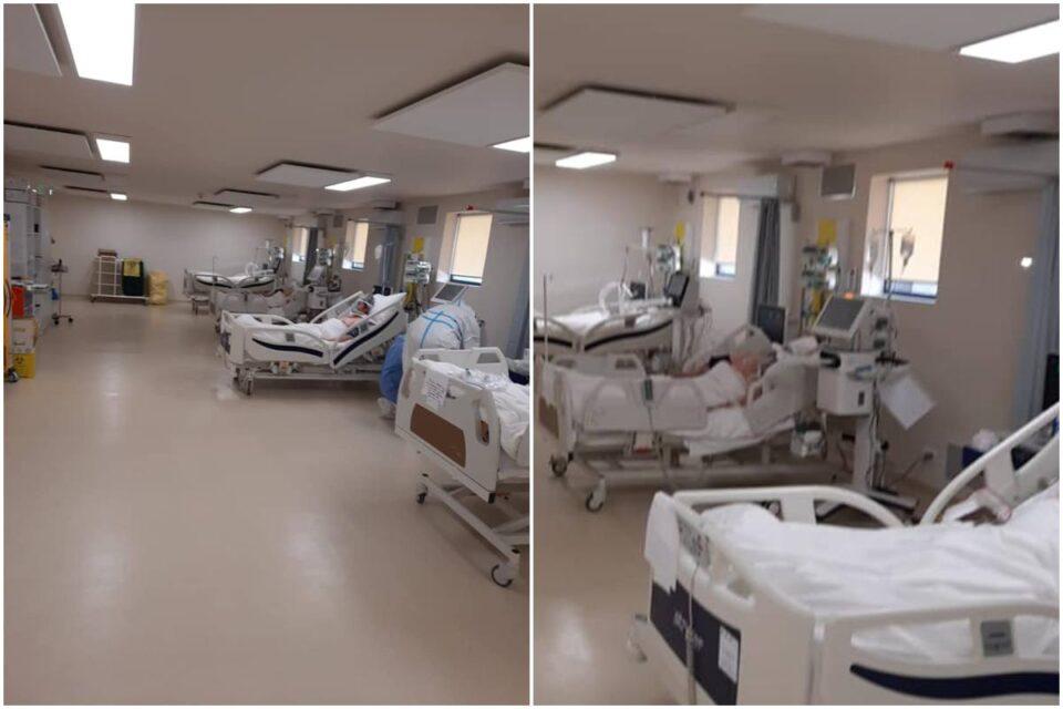 Spitalul modular de terapie intensivă Piatra Neamţ este funcțional