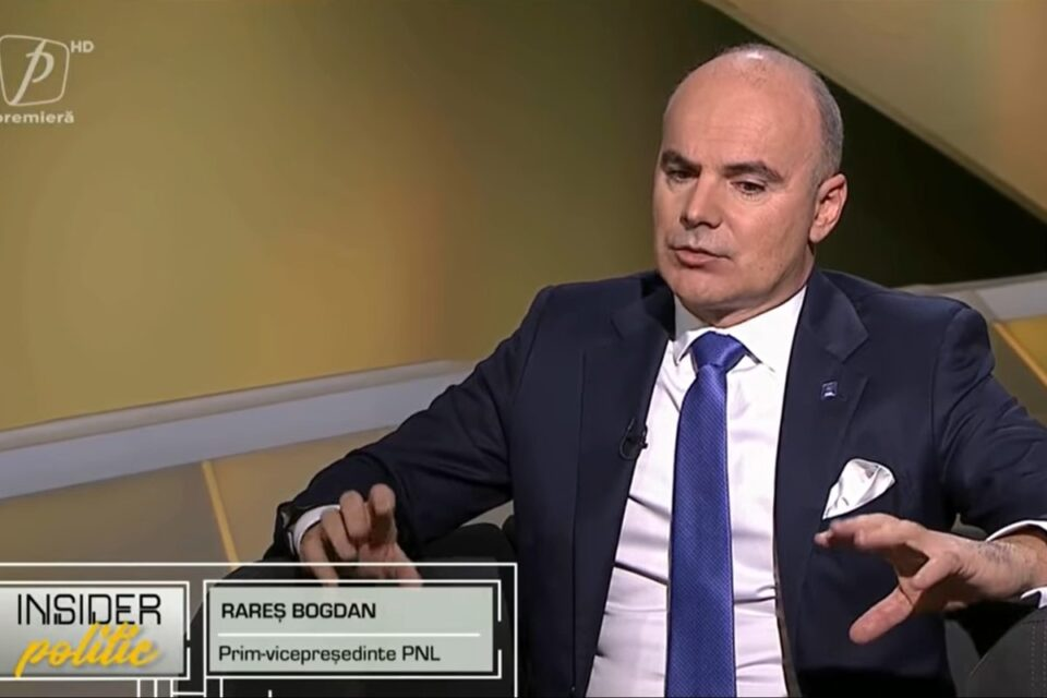Rareș Bogdan: Alianța cu USR PLUS și Florin Cîțu premier, garanția că România nu intră în haos, înainte de o iarnă ce se anunță grea
